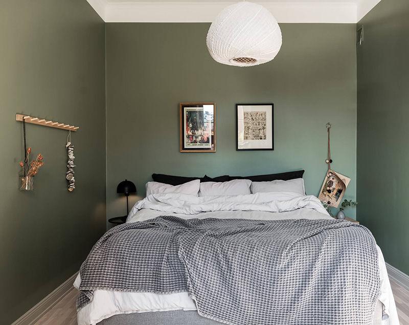 Светлая и уютная квартира на первом этаже в Швеции