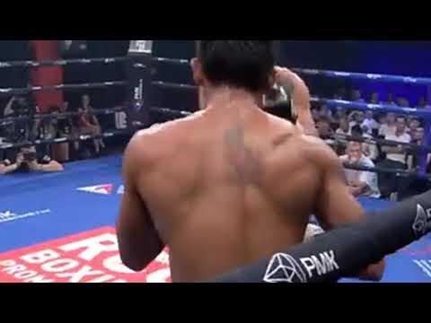 Roldan Aldea vs Mikhail Alexeev ( Round 8 KO )