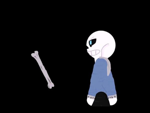 Анимация на тему андертейл санс против чары в рисуем мультфильмы 2