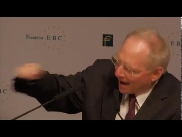 Schäuble schafft den Nationalstaat und damit die Grundlage von Völkerrecht und Souveränität ab