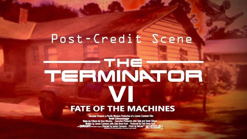 The Terminator 6 (Post-Credits Scene) Exclusivo!