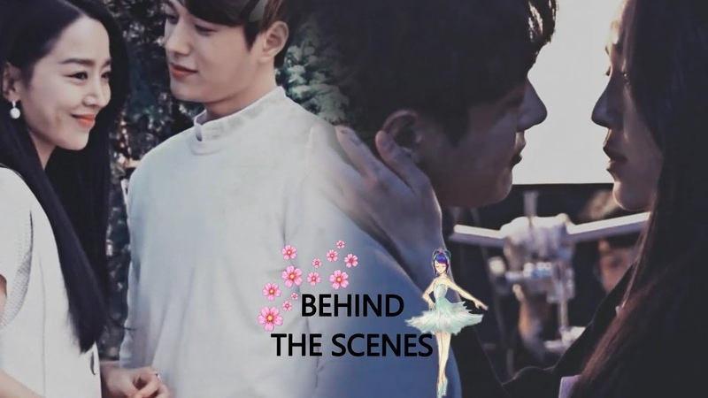 Shin Hye Sun ♥ Kim Myung Soo (L) ~ behind the scenes moments