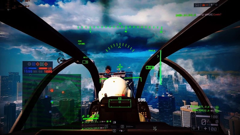 Battlefield 4 ПТРК Монтаж TOW montage BF4 2K60FPS