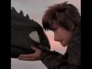 ↬ how to train your dragon ; hiccup & toothless