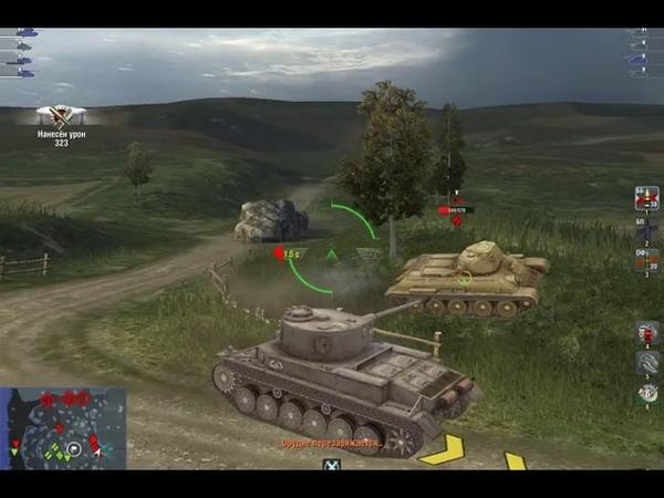 World of Tanks Blitz. VK-30.01P