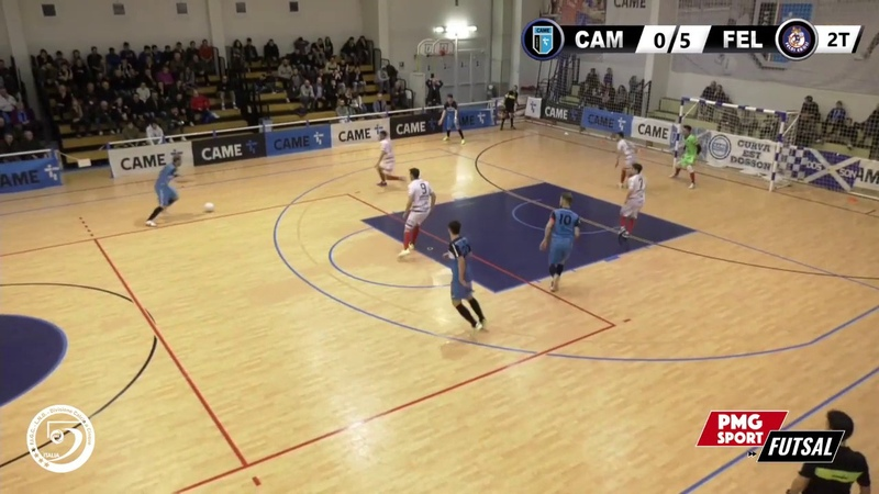 Serie A PlanetWin 365 Futsal Came Dosson vs Feldi Eboli Highlights