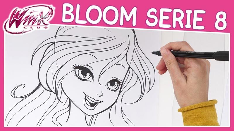 Winx Club Serie 8 Come disegnare Bloom TUTORIAL