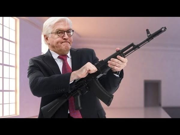 FAZ, STERN, ZDF... melden: Steinmeier bekam teure Geschenke von Waffenhändler!