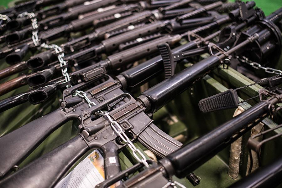 Трофеи из «песочницы»Репортаж c выставки вооружений сирийских боевиков, изображение №34