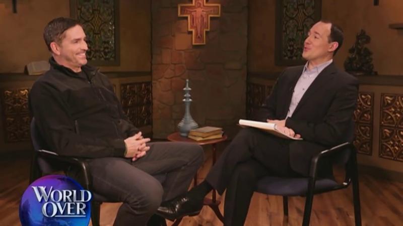 World Over 2018 03 22 Jim Caviezel 'Paul Apostle of Christ' EXCLUSIVE with Raymond Arroyo