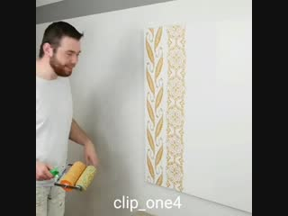 Идея декора стен