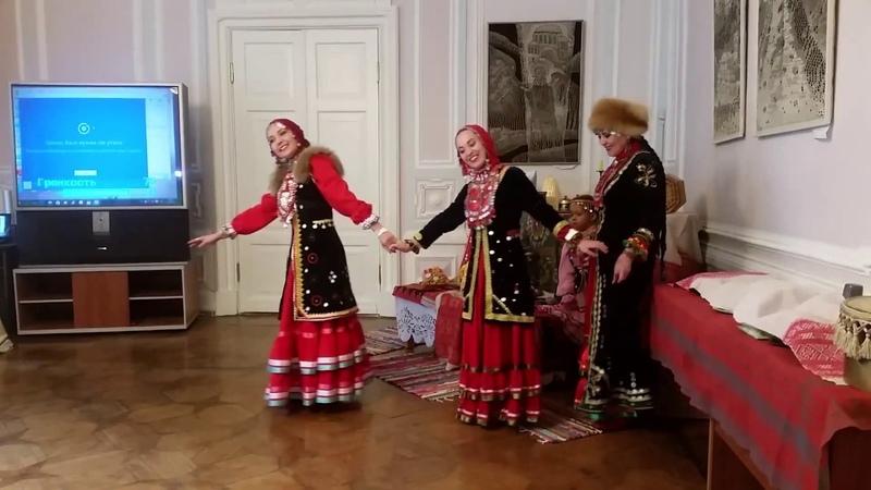 Башкирская народная песня Гульназира и танец Тыпырҙаҡ