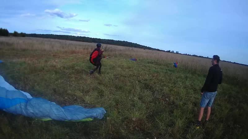Полет на лебедке