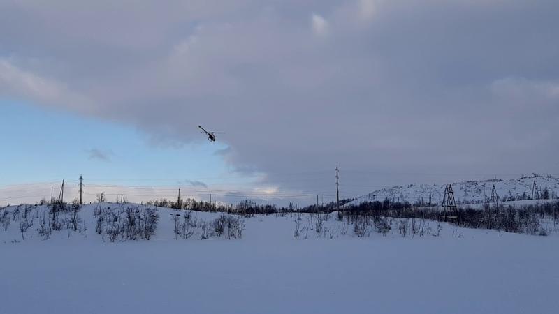 Gaui X3 радиоуправляемый вертолет полет 15 02 19
