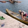 How's the fishing fishing drunk drunkvine canoe canoeing fish unexpected