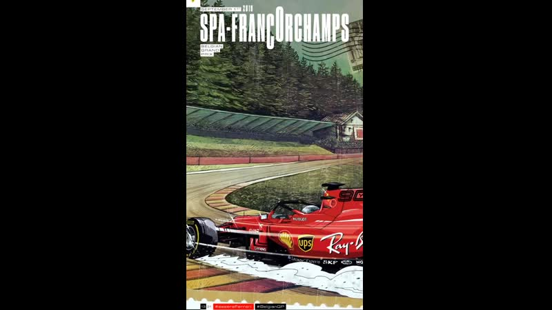 Belgian Grand Prix Cover art video by Riccardo Torti