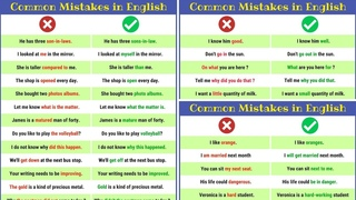 Grammatical Errors: 120 Common Grammar Mistakes in English And How to Avoid Them