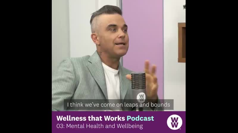 Keep an eye out for the next episode of the Wellness that Works podcast, as we have WW ambassadors @RobbieWilliams