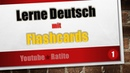 1 Lerne Deutsch mit Flashcards