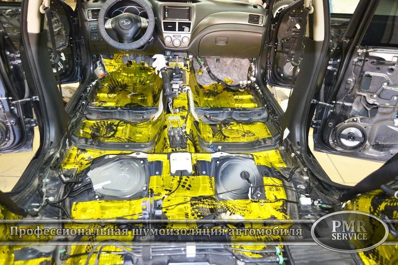Комплексная шумоизоляция Subaru Impreza, изображение №2