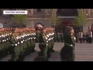Готовность номер один в Москве прошла репетиция парада Победы