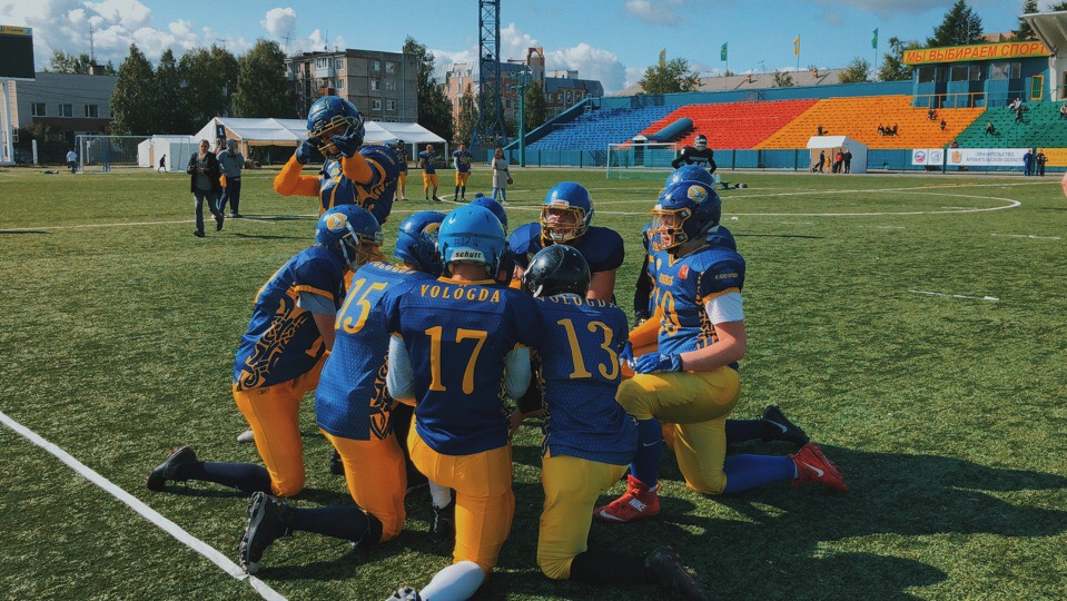 Вологодские спортсмены сыграют в американский футбол со шведами и англичанами