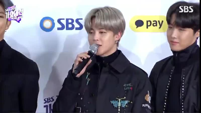 MC Jimin sshi JM You ran far together with the members in order to show your best sides