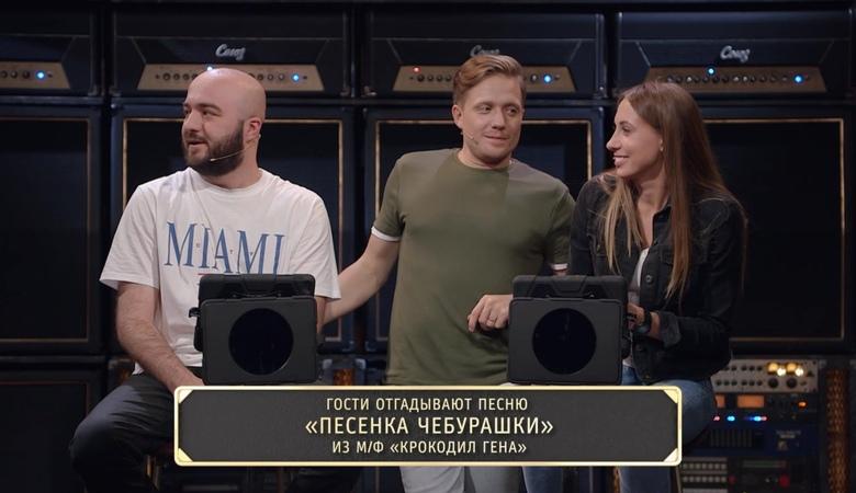 Шоу Студия Союз Песня о песне Расул Чабдаров и Виктория Складчикова