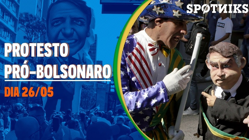 Fomos ao protesto pró-Bolsonaro de 26 de maio. E isso foi o que encontramos.
