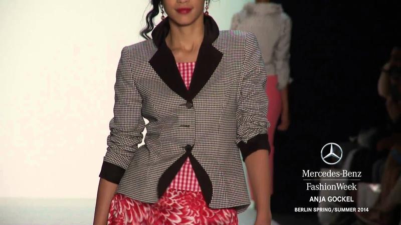 ANJA GOCKEL Mercedes Benz Fashion Week Berlin S S 2014 Collections