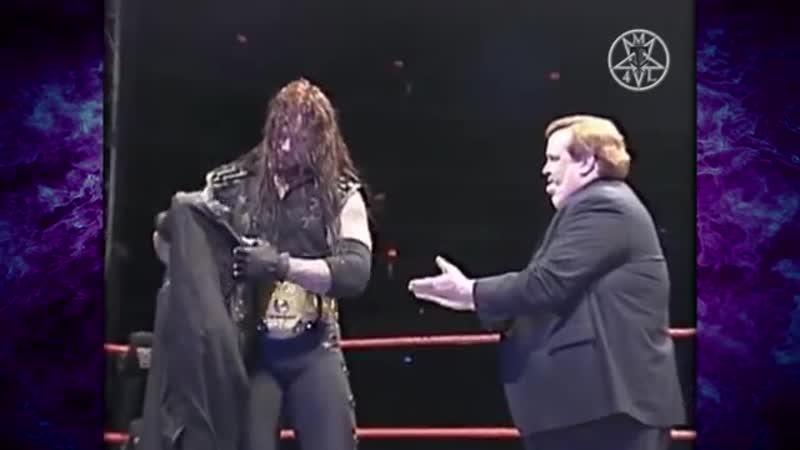 The Undertaker w_ Paul Bearer vs Stone Cold Steve Austin WWF Title Match 6_14_97