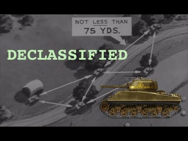 US Armor Movement Tactics 1943 Wartime Training Film.