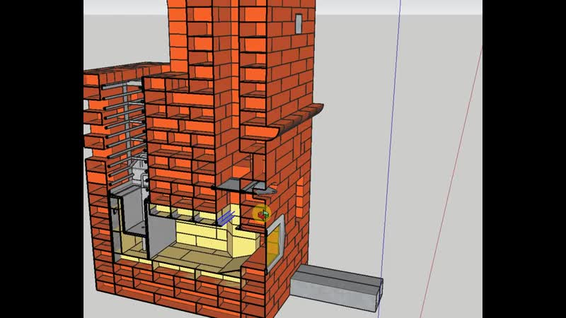 Выживание Сделай сам Умелые руки Проект Ивана Бояринцева Печь банная подовая на два помещения для бани