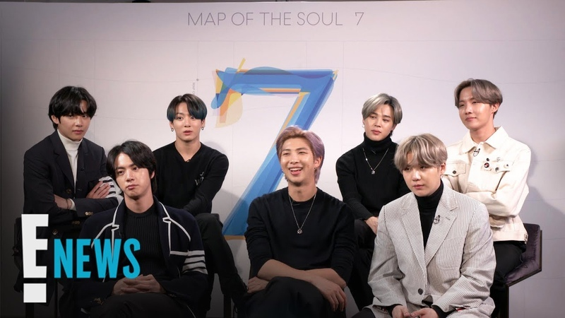 200224 BTS Reveals Their Dream Collabs Tour Must-Haves @ E! News