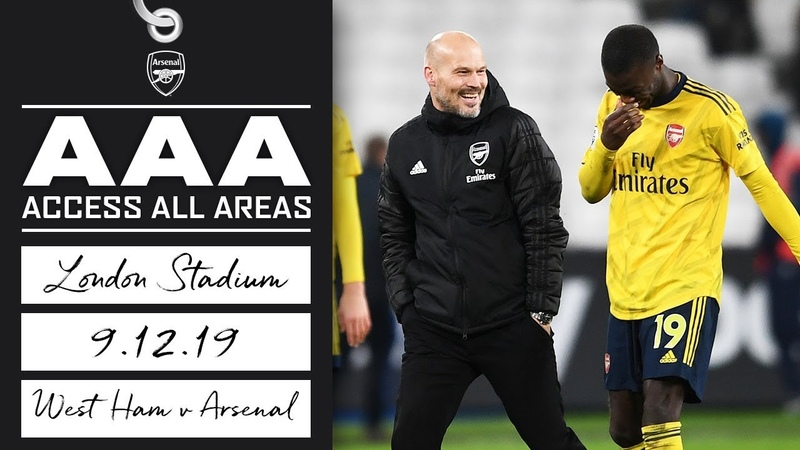 ACCESS ALL AREAS | West Ham 1-3 Arsenal | London Stadium
