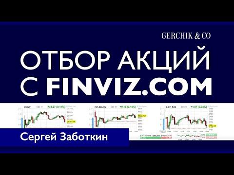 Скринер акций для трейдинга Как отфильтровать и быстро выбрать акции с помощью Finviz