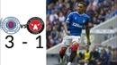 Rangers vs Midtjylland 3-1 (All Goals Highlights) Europa League Qualification Crazy Match