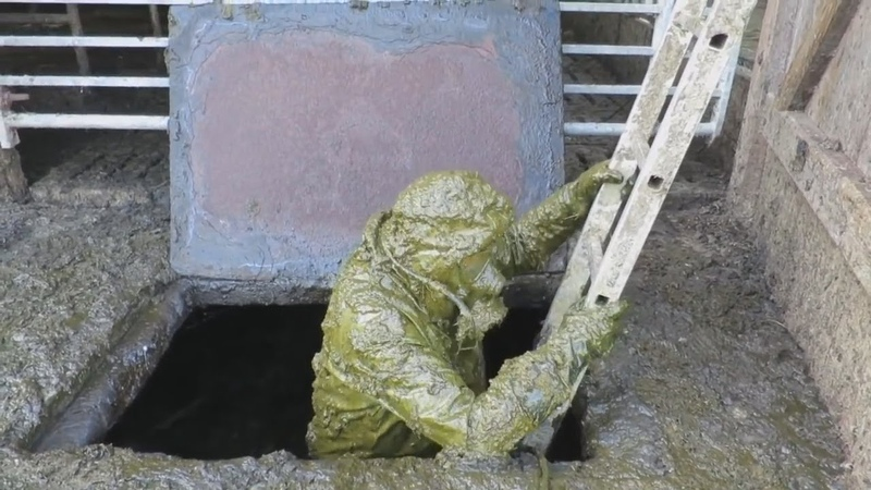 The Worst Job in the World: Silage Sewage Diver Canalization Wastewater Cleaner