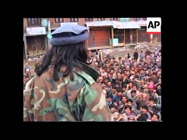 India Separatist Convoy Welcomed In Kashmir