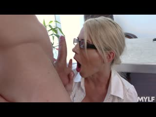 [mylf.com] kit mercer - principal pussy games [big tits, blowjob, cum in mouth, deep throat, milf]