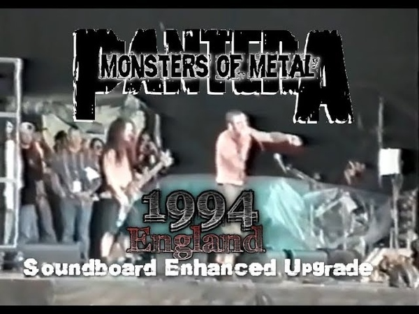 PANTERA (1994.06) England @Monsters of Rock [SDB enhanced 60FPS]