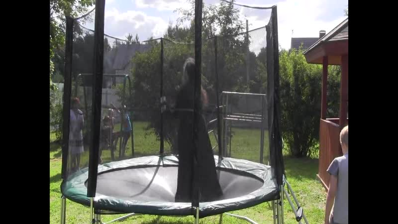 Батут 13 сентября 2013. Видео Аве Лагис
