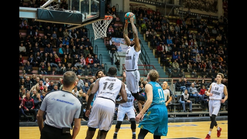 Elgin COOK's dunk is among TOP 10 Plays of VTB League Week 8