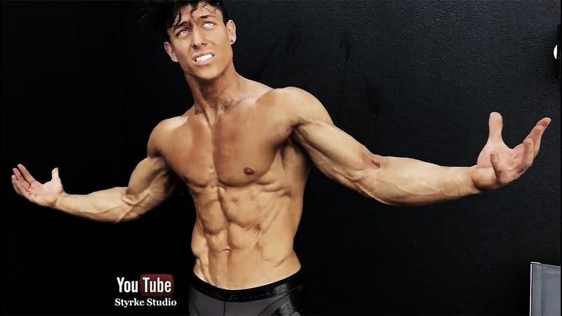 Amazing Shredded Fitness Model Florian Wolf Speedo Swimsuit Shoot Styrke Studio