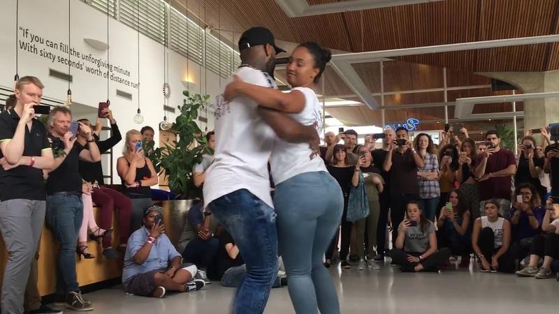 Tony Pirata Aurea dancing Kizomba at I Love Kizomba Festival 2019 (Eindhoven)