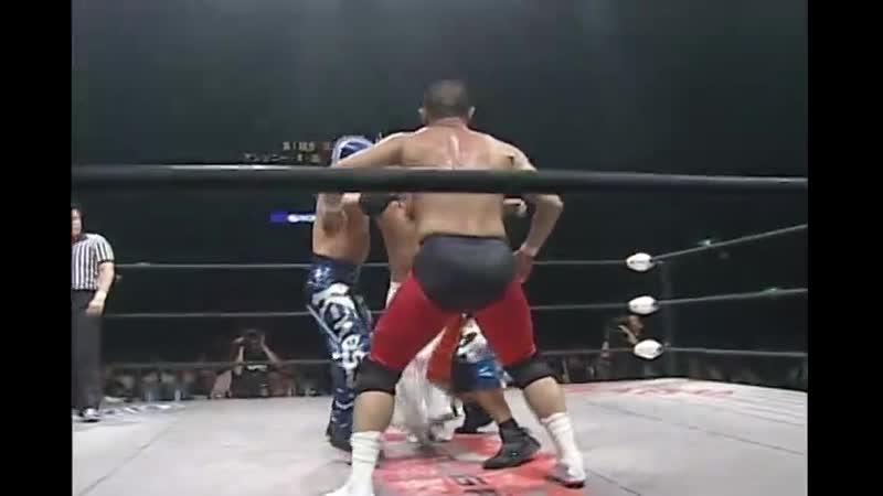 Final M2K K ness Kenichiro Arai Susumu Yokosuka vs Anthony W Mori BxB Hulk Super Shisa