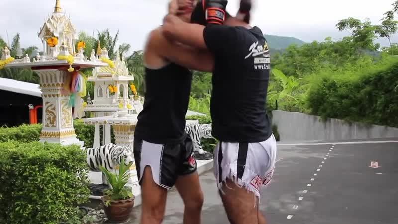 БИЕО Бирманский бокс Техника атаки в клинче btj bhvfycrbq jrc nt ybrf fnfrb d rkbyxt