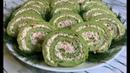 Рулет из Брокколи Идеальная Закуска На Праздничный Стол Рулет из Капусты Broccoli Roll