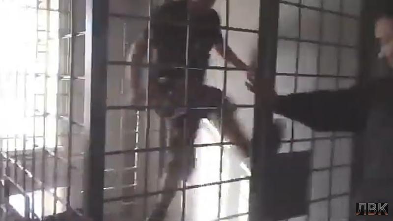 Главарь ОПГ «Ащеул» ломает клетку (видео). Банда Курагинских беспредельщиков