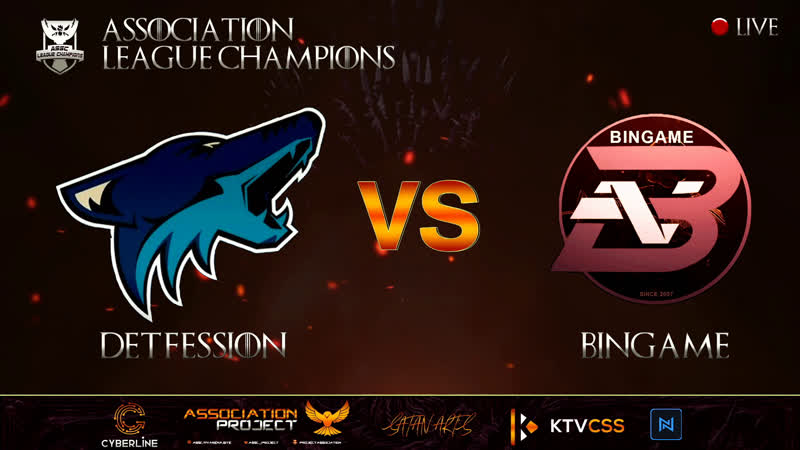 ASSC LEAGUE CHAMPIONS SUPERMAJOR 4 CSSv34 DETFESSION vs BiNGAME @bo3 20 00